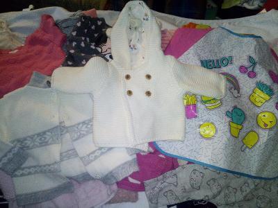 10 kg kojenecké oblečení pro holčičku cerem + 1 jakost