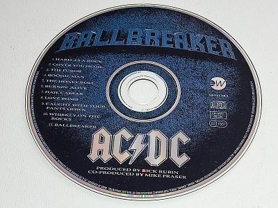 ACDC - BALLBREAKER  / CD NEŠKRÁBLÉ - BEZ OBALU