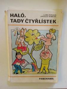 Kniha, Čtyřlístek, Haló, tady Čtyřlístek