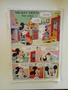 Časopis, Mickey Mouse z roku 1993, bez obálky