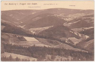 Jáchymov, Suchá, Klínovec, Krušné hory 1920