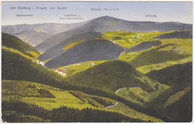 Jáchymov, Suchá, Klínovec, Krušné hory 1919