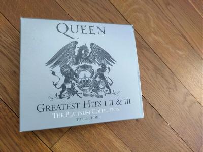 CD Queen - Greatest Hits I II and III a spousty dalších CD