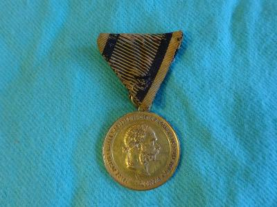 Stará medaile Franz Josef