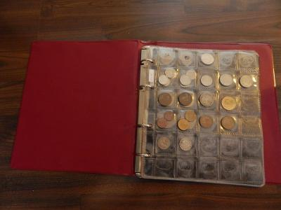 katalog ze 106 mincemi / evropa / nečištěno / po sběrateli