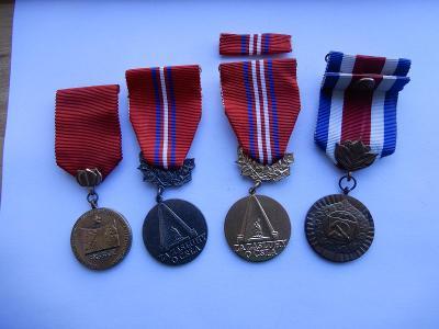 Konvolut vyznamenáni ČSSR