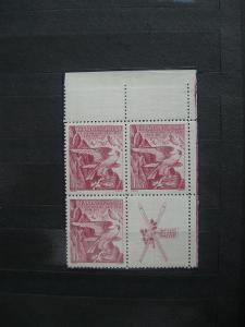 ** PH čtyřblok 332K - Zimní sletové sokolské hry 1938 - H-ČSR I.