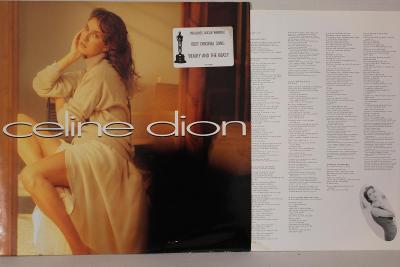 Celine Dion LP 1992 vinyl EU 1.vydani super stav NM cleaned mega rare