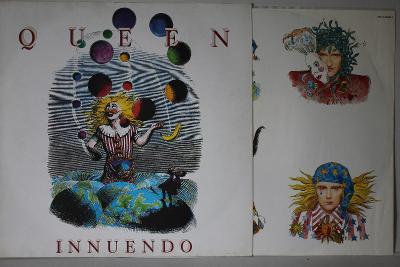 Queen – Innuendo LP 1991 vinyl EU 1.vydani super stav EX+ cleaned