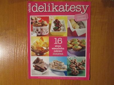 Vlasta - Delikatesy - recepty - vánoční cukroví - Vánoce