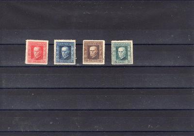 1061  sestava známek Masaryk 1925*