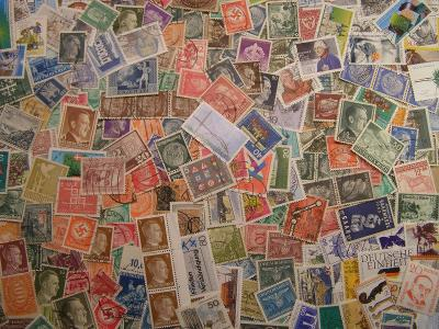 Německé známky , staré i novější