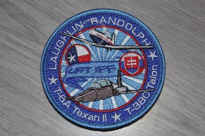 nášivka Slovenského letectva , výcvik v USA,letecká základna Randolph