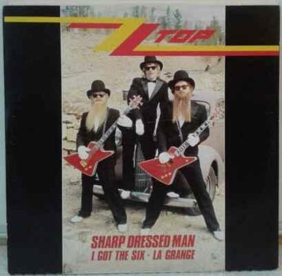 ZZ Top - Sharp Dressed Man, 1984 EX