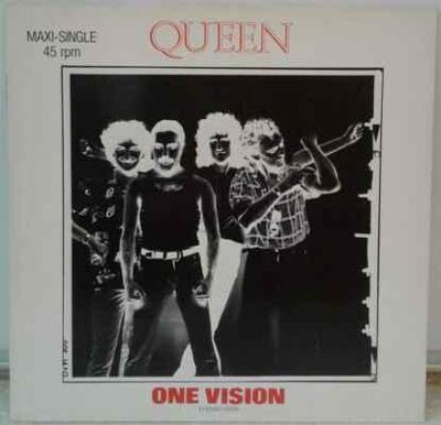 Queen - One Vision (Extended Vision) 1985 EX
