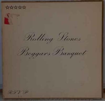 LP Rolling Stones - Beggars Banquet, 1970 EX