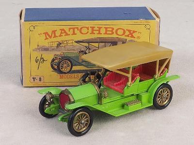 Y-9 MATCHBOX MODELS OF YESTERYEAR 1912 - SIMPLEX - PŮVODNÍ KRABIČKA