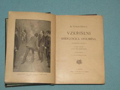 A.c.Doyle - Vzkříšení Sherlocka Holmesa