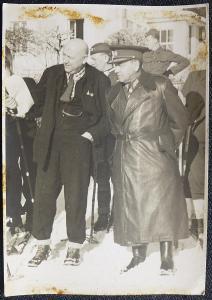 Generál Jan Šípek - cca 1946 - soukromé foto