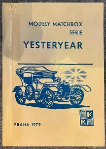 Kniha MODELY MATCHBOX SÉRIE YESTERYEAR