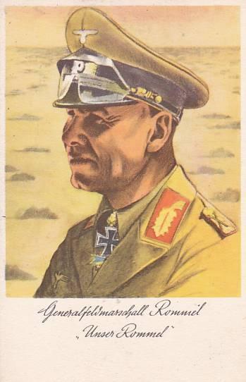 GENERÁL ROMMEL - NĚMECKÝ VOJÁK -12-KY54