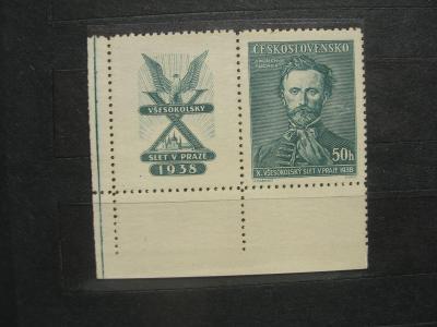 ** LD 339K - X. všesokolský sjezd v Praze 1938 - popis - H-ČSR I.