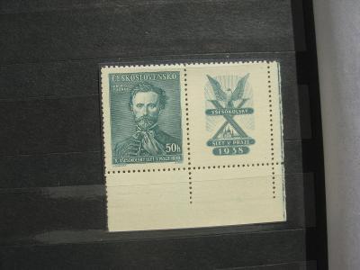 ** PD 339K - X. všesokolský sjezd v Praze 1938 - popis - H-ČSR I.