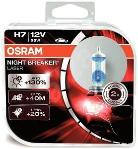 Nefunkční a pouze pro podnikatele: Autožárovka OSRAM H7 Nightbreaker