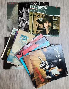 LP desky 26 kusů, seznam, pouze jako celek