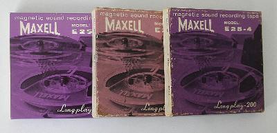 Páska / Maxell , 3.ks (e4)