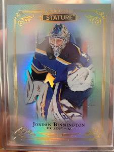 2019-20 Stature Jordan Binnington