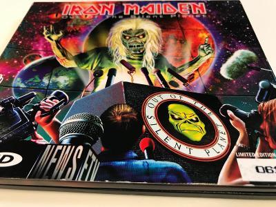 Iron Maiden: Out Of The Silent Planet 2000, LTD. číslovaná edice, TOP