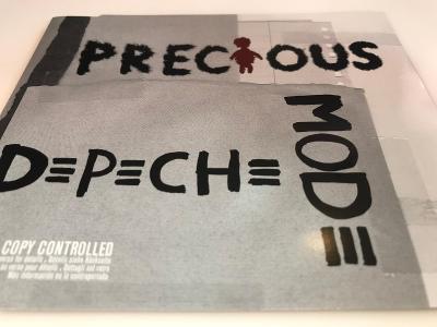 Depeche Mode: Precious 2005 LCD Bong 35, Jako Nový !!!
