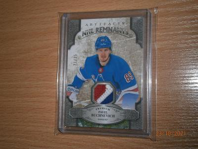 Pavel Buchnevich - Artifacts NHL Remnants patch - limitace 21/25