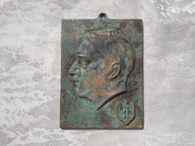 Nemecky odznak Adolf Hitler III Rise Nemecko 1940 tabulka