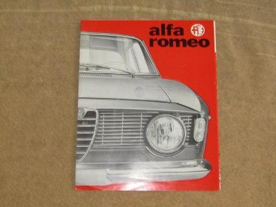 Prospekt Alfa Romeo Sprint GT