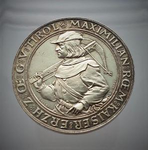 Stříbrná medaile střelby INNSBRUCK 1885, nádherná a vzácná, PROOF!!