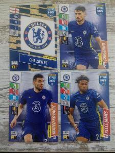 Fotbalové kartičky - CHELSEA FC - 4x