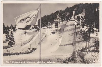 Německo, Bavorsko, Garmisch Partenkirchen (zimní olympiáda) 1936