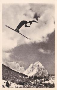 Německo, Bavorsko, Garmisch Partenkirchen (skoky na lyžích) 1936