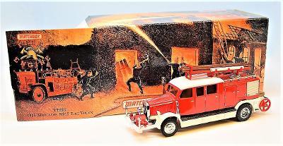 202-MATCHBOX YFE07 - MERCEDES KS15 FIRE TRUCK 1938
