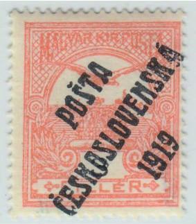 06. PČ 1919 POF. 91 TURUL 3f II. typ ** zk. Vrba - LUXUSNÍ