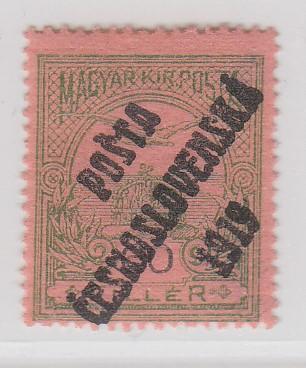 07. PČ 1919 POF. 94 TURUL 60f II. typ ** zk. Vrba, Mr, Lý **