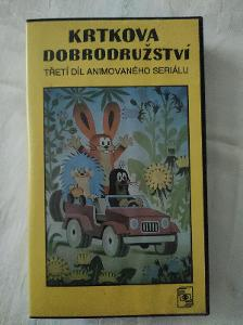 VHS Krtkova dobrodružství Třetí díl