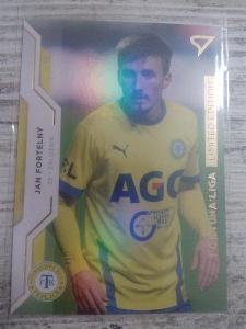 Fotbalová kartička - Jan Fortelný - GOLD limit X/99