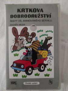 VHS Krtkova dobrodružství Šestý díl