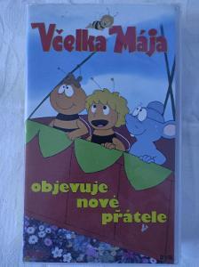 VHS Včelka Mája objevuje nové přátele