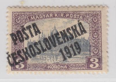 16. PČ 1919 POF. 116 PARLAMENT 3K ** zk. Vrba