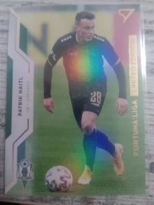 Fotbalová kartička - Patrik Haitl- GOLD limit X/99