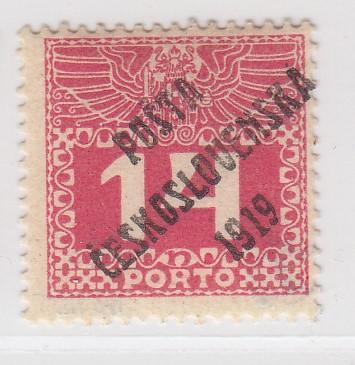 18. PČ 1919 POF. 68 PORTO 14h - III. typ ** zk. Vrba, Mrňák - LUXUSNÍ